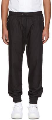 Dolce & Gabbana Black Poplin Track Pants