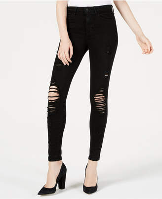 GUESS 1981 Ripped Skinny Jeans