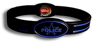 Pure Energy Unisex PEFLEX-POLICEM Digital Display Watch
