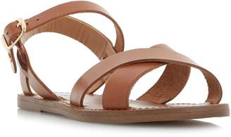 Dune LADIES LAILA - Cross Vamp Flat Sandal