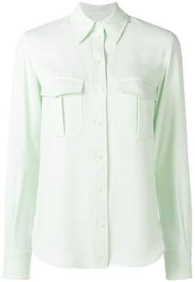 Calvin Klein pointed collar shirt