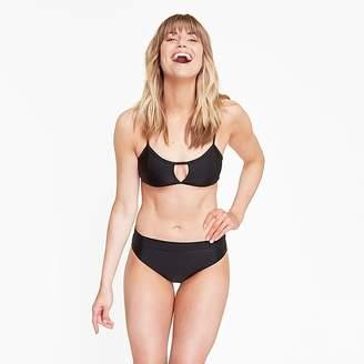 J.Crew Summersalt® classic Turn Down bikini bottom in black
