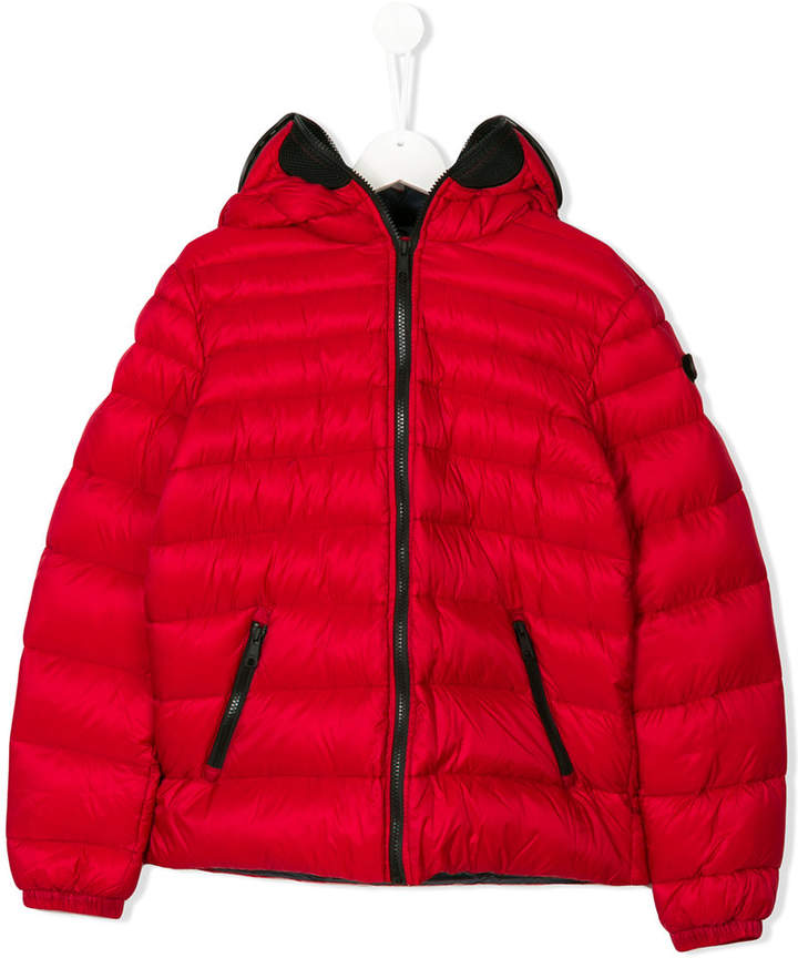 Ai Riders On The Storm Kids padded coat
