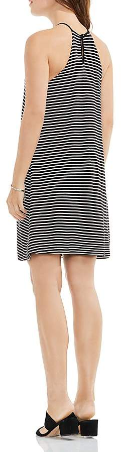 VINCE CAMUTO Stripe Halter Swing Dress 2