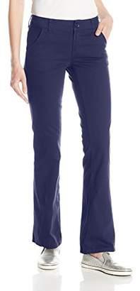 UNIONBAY Junior's Juniors Heather Slash Pocket Uniform Bootcut Pant