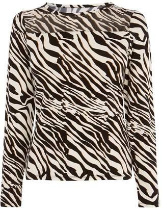 Karen Millen Zebra Print Top
