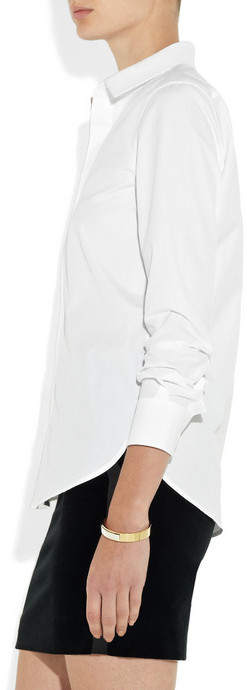Saint Laurent Tailored cotton shirt