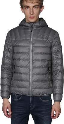 CHERRY CHICK Men's Solid Ultralight Packable Down Jacket (M, Burgundy-LD)