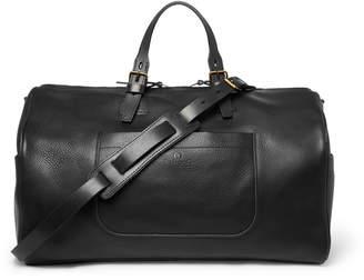Bleu De Chauffe Bleu de Chauffe - Hobo Full-Grain Leather Holdall - Men - Black
