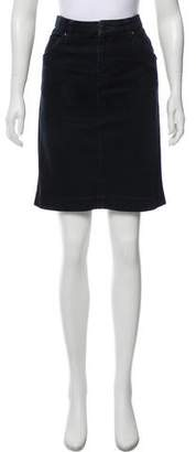 Prada Four-Pocket Mini Skirt