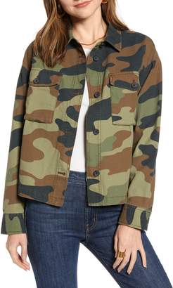 Treasure & Bond Camo Military Jacket
