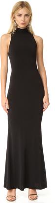 alice + olivia Erika Mock Neck Maxi Dress $297 thestylecure.com