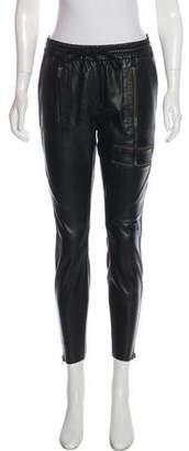 Pam & Gela Leather Skinny Pants