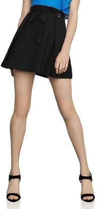 BCBGMAXAZRIA Paperbag-Waist Mini Skirt
