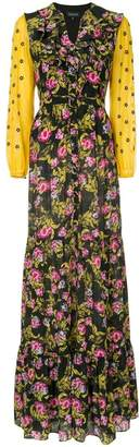 Saloni Ginny floral dress