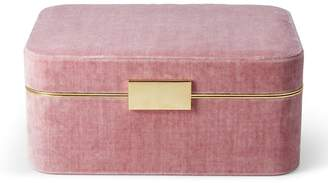 AERIN Beauvais Velvet Jewellery Box