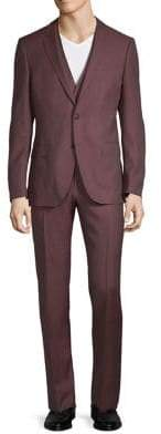 HUGO BOSS Classic-Fit Wool-Blend Suit
