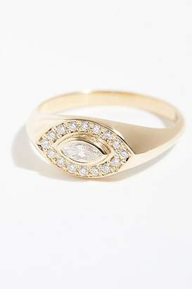 Marquis Zoë Chicco 14k Diamond Pave Ring