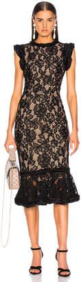 Alexis Kleo Dress in Black Lace | FWRD