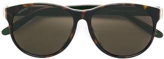 Gucci classic tortoiseshell sunglasses