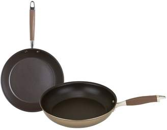 Anolon Advanced+ Umber Frying Pan Twin Pack