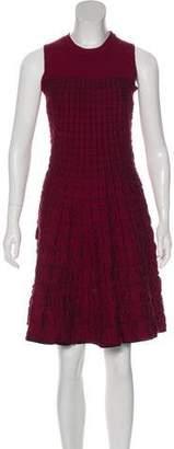 Louis Vuitton Silk Quilted Dress