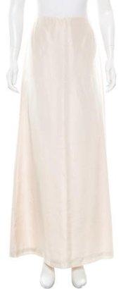 Vera Wang Satin Maxi Skirt $95 thestylecure.com