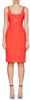 Narciso Rodriguez WOMEN'S CUTOUT SLEEVELESS SHEATH DRESS - RED SIZE 42 IT