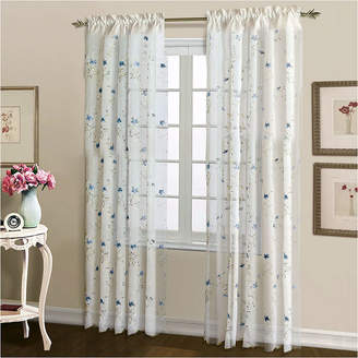 Co UNITED CURTAIN United Curtain Lorretta Rod-Pocket Curtain Panel