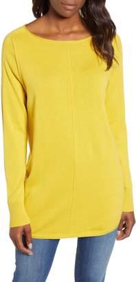 Caslon Seam Detail Shirttail Tunic