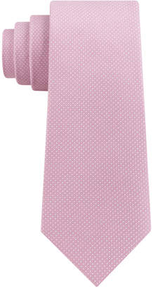 DKNY Men Blended Micro Dot Slim Tie
