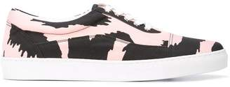 Versus printed lace-up sneakers