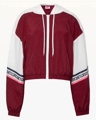 Juicy Couture JXJC Colorblock Nylon Hooded Jacket