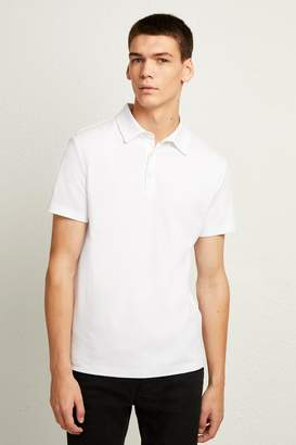 French Connenction Central Crepe Polo Shirt