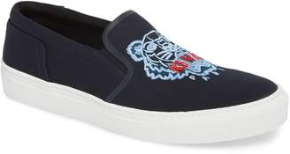 Kenzo K Skate Embroidered Slip-On Sneaker