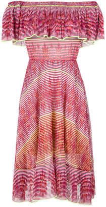 Cecilia Prado knitted off the shoulder dress