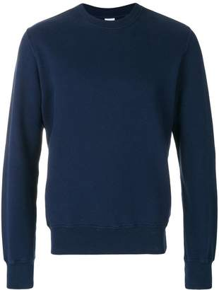 Aspesi ribbed crew neck sweatshirt