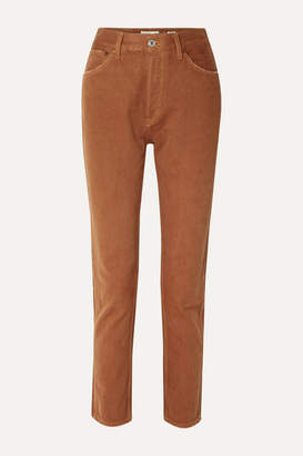 RE/DONE 50s Cigarette High-rise Straight-leg Jeans - Tan