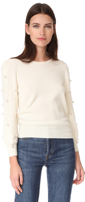 Marc Jacobs Long Sleeve Crew Neck Sweater $450 thestylecure.com