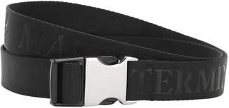Mastermind World 35mm Logo Jacquard Webbing Belt