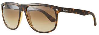 Ray-Ban Flat-Top Plastic Sunglasses