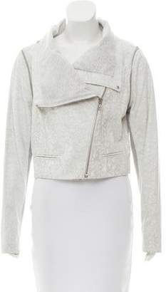 Yigal Azrouel Textured Leather Jacket w/ Tags