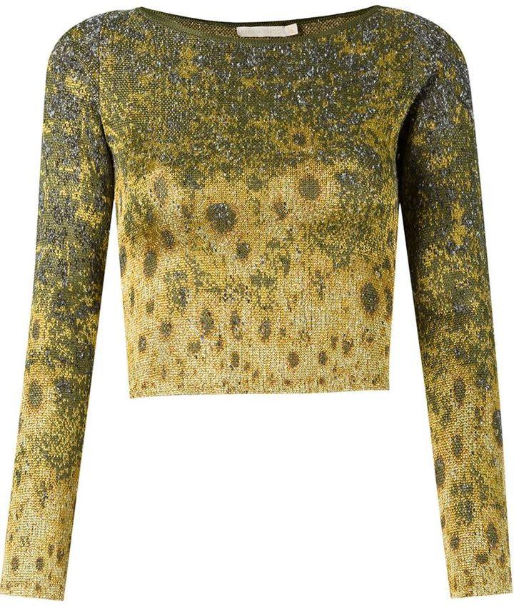 Cecilia PradoCecilia Prado degrade cropped knit blouse