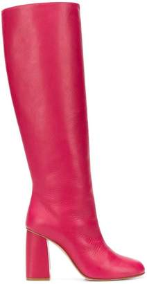 RED Valentino RED(V) knee high boots