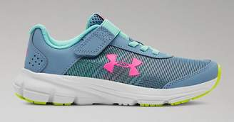 Under Armour Girls' Pre-School UA Rave 2 NP AC Running Shoes