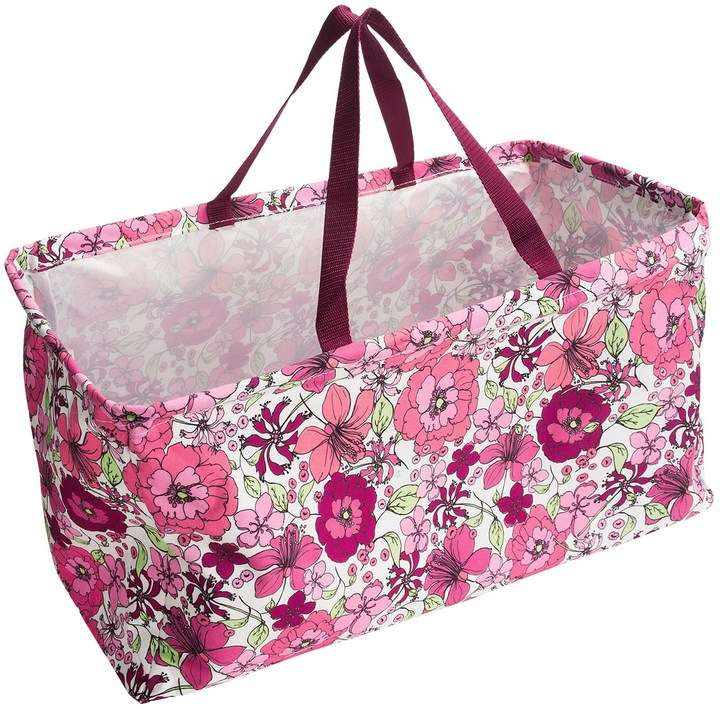 Twos Company Two's Company Chelsea Floral Hamper/Tote Bag - Collapsible