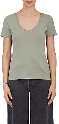 Barneys New York WOMEN'S PIMA COTTON SCOOPNECK T