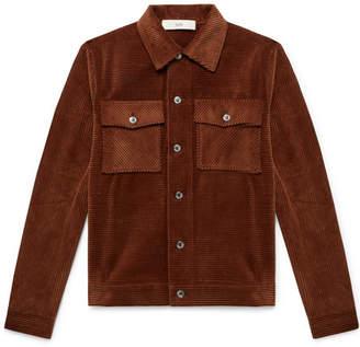 Séfr Eric Cotton-Corduroy Shirt Jacket
