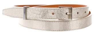 MAISON KITSUNÉ Metallic Leather Belt