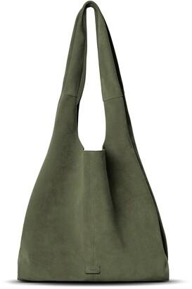 Shinola Market Leather Hobo Bag